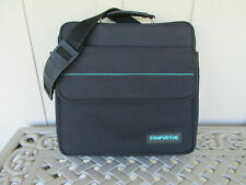 """Black Laptop Case or Accessories Bag 13"""" x 13"""" x 3.5"""" - Thick Padding"""