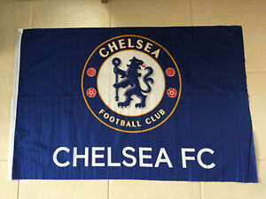 Official Chelsea FC LARGE FLAG  Champions League Winners 2021 90x60cm Approx