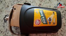 Petmate 71034 Arm & Hammer Swivel Bin & Rake Pooper Scooper, Scented Bags Includ