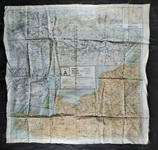 WW2 RAF Escape & Evasion map – European Sheet A/B