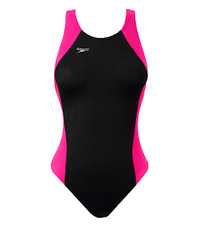 Speedo Fastskin FSII Recordbreaker Size: 32 Color: Black Hot Pink Swim NWT