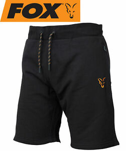 Fox Collection Black Orange LW Shorts - kurze Angelhose, Angelbekleidung