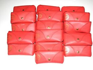 Rayban Red Sunglasses Eyeglasses Snap Case Lot of 24 bulk cases Ray-Ban
