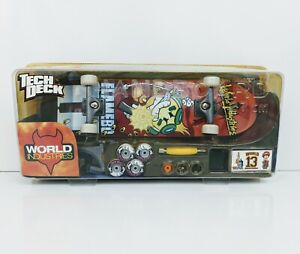 2002 Tech Deck Handboard World Industries Flamebo II 21460 Rare