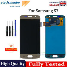 For Samsung Galaxy S7 LCD G930F Gold Touch Screen Digitizer Replacement + Tools
