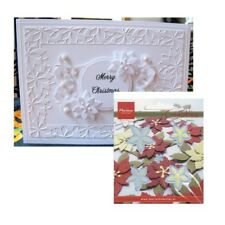 Christmas Small Poinsettia Metal Die Cuts Flowers Marianne Cutting Dies LR0142