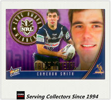 2007 Select NRL Champions Gem Card Gc14 Steve (warriors)