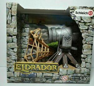 Schleich Eldrador Cannon 42222 Medieval Castle Knights Fantasy Play Weapon Fires