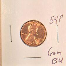 1954 P Lincoln Wheat Cent Gem BU