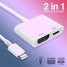 Apple Lighting to 4K HDMI Digital AV Adapter iPhone 11 XR XS iPad 4 5 6 To HDTV