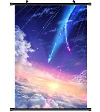 B4313 Kimi no Na wa Your Name anime manga Wallscroll Stoffposter 25x35cm