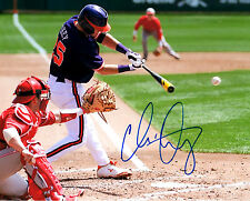 Chris Okey Reds top prospect Signed 8x10 photo Autographed Clemson Tigers#