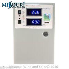 440 amp 10,000 watt charge controller 12/24/48 volt 4 wind turbine solar panel