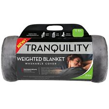 *NEW* Tranquility Weighted Blanket Temperature Balancing w/ Washable Cover 15 lb