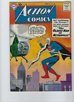 Action Comics #251 Apr. 1959 Flat tight and glossy! Original owner!1st Supergirl