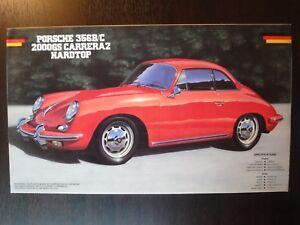 Nostalgic ! FUJIMI 1/24 PORSCHE 356 B/C 2000 GS Carrera 2 Hardtop Valuable !!