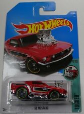 Hot wheels 2017 B Case Ford 68 Mustang Tooned Long Card