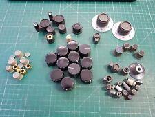 Hp Agilent Marconi Tektronix Perillas de engranajes de prueba