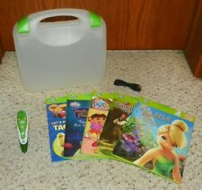 LeapFrog TAG - Reading System (w/ 5 Books & Carry Case) - Green
