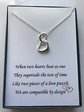 Love Heart necklace w/ love poem for your wife/girlfriend/friend