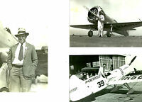 3 - Set #33  Miss Chevrolet, Gilmore + B&W 4X6 PHOTOS - Air RACING & AVIATION