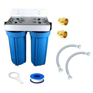 High Flow Twin UnderSink Water Filter System For Mixer Tap