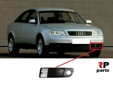 FOR AUDI A6 (C5) 1997 - 1999 NEW FRONT BUMPER FOGLIGHT GRILLE BLACK LEFT N/S