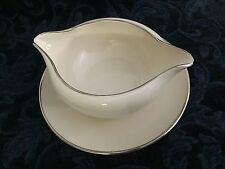 Flintridge China~Made In California, Bellmere Pattern~Gravy Boat