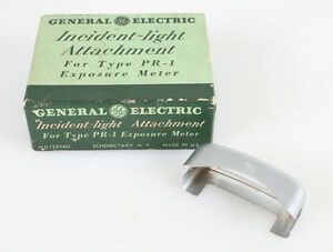 GENERAL ELECTRIC INCIDENT LIGHT ATTACHMENT FOR TYPE PR-1 EXPOSURE METER