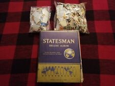Used postage stamps lot
