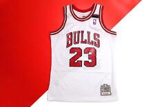 100% Authentic Michael Jordan Mitchell & Ness Bulls Shrug Game Jersey 91-92 M 40