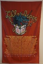 LOLLAPALOOZA 2012 Concert Tour Poster Fabric Wall Tapestry Man Cave 3x5 Feet