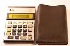 Rare Vintage Casio JL-110 Calculator Yellow Led Display 1980's