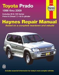 Toyota Prado Petrol & Diesel 1996-2009 Workshop Repair Manual with MPN HA92760