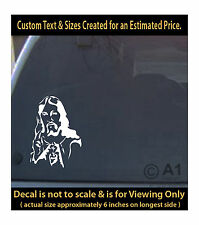 Jesus image of Lord 6 inch decal 4 car truck home laptop fun more r1_92