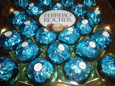 Torquoise Blue Wedding Ferrero Rocher 4 cases 300g and 200 chocoalte hearts