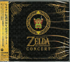 GAME MUSIC-THE LEGEND OF ZELDA 30TH ANNIVERSARY CONCERT-JAPAN 2CD G88
