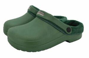 GARDENERS Clogs SUPER SALE lush warm fleece lined UK6 footwear ONLY £3.99