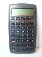 HP 10 B II Financial Calculator w/ Slip Case Hewlett Packard Tested Works