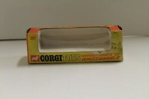 "Corgi No: 387 ""Chevrolet Corvette Stingray"" - (Original EMPTY BOX ONLY)"