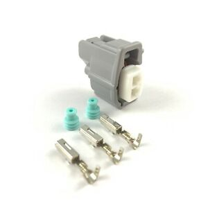 4x Acura RDX 2-Pin Fuel Injector Connector Plug Clip RSX Honda 410cc