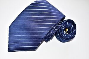 Men's Donald J Trump Blue 100% Silk  neck Tie Made in China