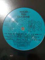 """Wicked Mix """"Miami Bass Classics"""" #3 Vinyl Record Original Hip Hop Remixes Rare"""