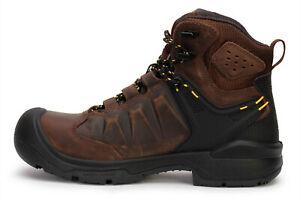 Mens Keen Dover 6 Inch Waterproof Industrial Boots Carbon Fiber Toe NEW