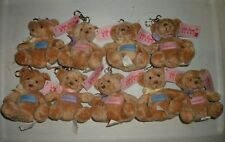 Russ® With Love Name Keychain Bear - 9 Letter H-L Choices (Haley to Lauren) Mint
