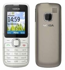New Nokia C1-01 SILVER Unlocked  Mobile Phone