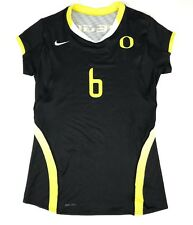 New Nike University of Oregon Ducks Women's M Volleyball Jersey Short Sleeve