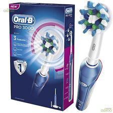 Braun Oral-B PRO 3000 CrossAction 3-mode recargable Eléctrico Cepillo dE dientes