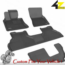 3D Fits 2009-2013 BMW X5 G3AC63924 Black Waterproof Front, Rear and Third Row Ca