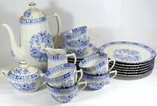 Kaffeeservice, China Blau, hpts. Seltmann, kpl. für 6 Personen    (254/1013)